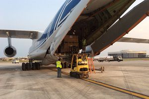 image: Caribbean Volga Emergency Logistics Hurricane Irma Maria freight cargoes