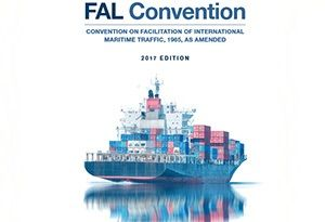 image: IMO FAL 40 cargo ship agent shipping International Maritime Organization