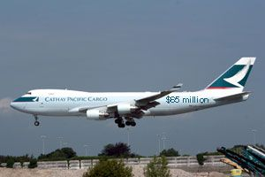 image: Cathay Pacific Hong Kong air freight cargo carrier antitrust