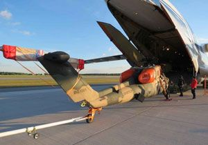 image: Russia Germany Turkey Prototype Attack Helicopter freight air cargo carrier charter