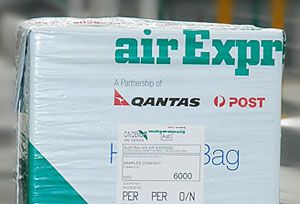 image: Australia express road freight carrier airfreight