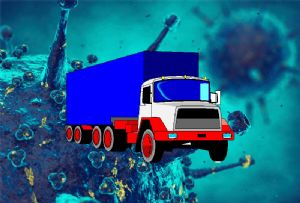 image: UK RHA FTA freight transport association road haulage coronavirus Covid-19 supply chain London