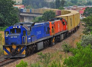 image: Transnet South Africa rail freight carrier multimodal logistics Barloworld