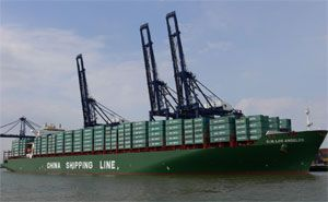 image: China container shipping TEU FEU freight exporters shippers carriers
