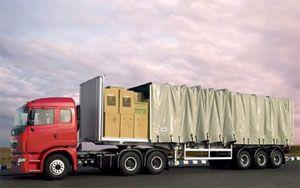 image: India trucks commercial vehicle motor jaguar Land Rover Daewoo Ashkok Leyland payloads tonnes exporters