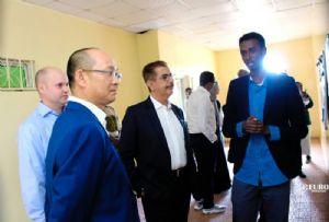 image: Somaliland port logistics DP World Abaarso education student Djibouti Doraleh