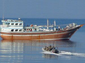 image: Somalia piracy freight European Union East Africa maritime security