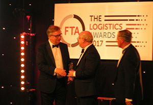 image: UK freight transport Association awards logistics Alistair McGowan