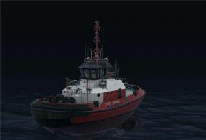 image: Singapore Autonomous Tug Project W�rtsil� technology PSA marine Lloyd�s Register Harbour Polaris