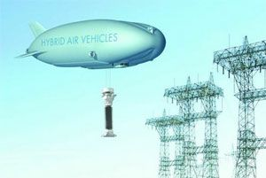 image: Europe China air freight airship logistics transport mode graphene technology 2D