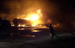 image: Trucks, Taliban, Logistics, Afghanistan, NATO, insurgency, Pakistan, bomb, Chaman, Baluchistan