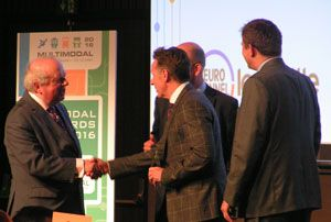 image: UK multimodal freight transport awards John Sergeant political reporter
