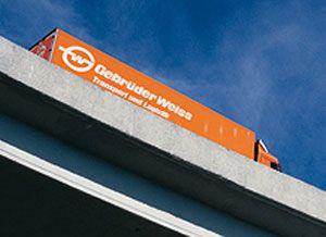 image: Austria CIS Georgia Germany logistics freight forwarding truck transport Gebr�der Weiss
