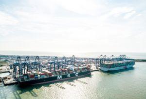 image: UK, Port, Felixstowe, Clarence, Cheng, Chris Lewis, hauliers, VBS, nGen, trucks, shipping lines, Chris Failing Grayling,
