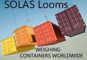 image: SOLAS VGM verified gross mass export containers ports US Africa UK