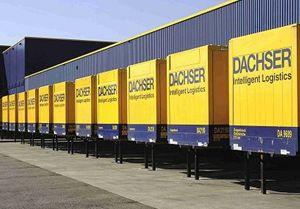 image: Poland Dachser freight logistics pallet