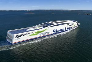 image: Sweden, Stena Line, freight, passenger, ferries, emissions, RoRo, vessels, single use plastic, environmental changes,