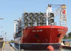 image: Germany Red Sea Sudanese catamaran sank heavy lift vessel Hansa Elbe