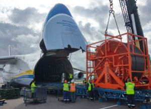 image: Ruslan An-124 project freight forwarding Antonov Volga Dnepr