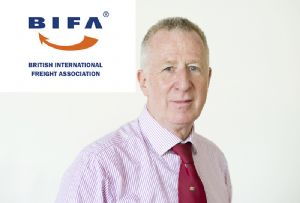 image: UK BIFA British International Freight Association Robert Keen Lifetime service award logistics forwarders