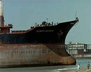 image: EU ship breaking freight carrying overcapacity scrap bulk cargo container shipping