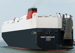 image: CSAV shipping RoRo freight cartel car carriers Federal Maritime Commission  $ million penalties