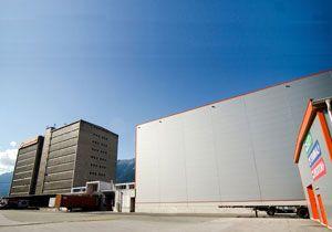 image: Austria Tyrol Innsbruck Gebr�der Weiss freight forwarding logistics multimodal terminal intermodal rail cargo road haulage