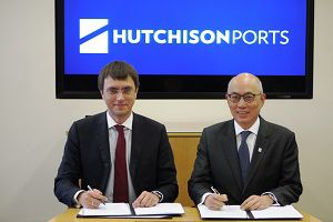 image: Hutchison ports freight container bulk cargo Ukraine Chornomorsk Black Sea