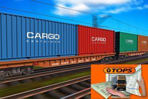 image: UK intermodal Fargo freight rail cargo container terminal software