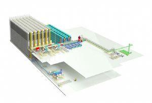 image: Germany, materials, handling, fork lift, crane, plant, spare, parts, Jungheinrich, Lebherr, Ehingen,