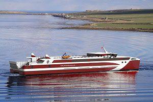 image: UK Australia Vietnam freight passenger Orkney Island ferry crossing BMT Pentland