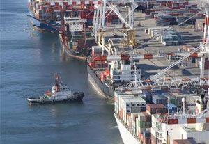 image: BITRE Australia freight tonnage TEU cargo throughput port wharves Brisbane Fremantle Adelaide Sydney Melbourne