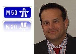 image: Ireland road haulage tax tolls freight Eurovignette logistics M25 M50