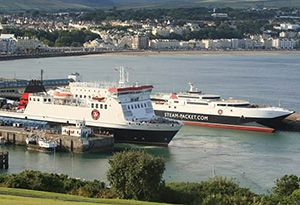 image: Tynwald Isle of Man Steam Packet Company Manx government RoRo freight ferry deal RMT
