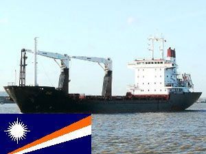 image: Marshall Islands Derna freighter Isis Tilbury stranded crew ITF repatriation
