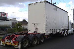 image: US freight truck juggernaut