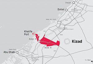 image: Abu Dhabi UAE Dubai logistics facility Lloyds Register the Khalifa Industrial Zone Kizad ISO