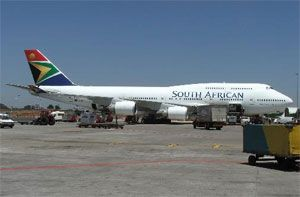 image: South Africa air freight cargo