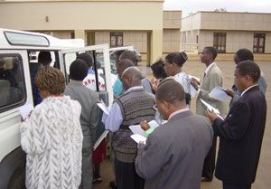 image: Malawi UK Transaid freight logistics charity driver training