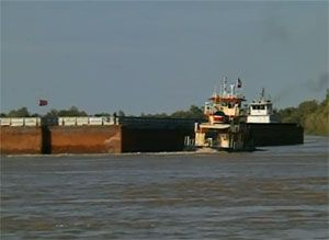 image: Jones Act domestic waterborne freight container intermodal shipping short sea feeder