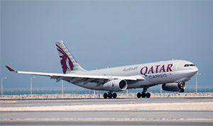 image: Qatar Myanmar freight cargo airbus