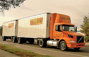 image: US Truckers YRC Worldwide Inc Handy Shipping Guide haulier Con-way Werner Enterprises truck LTL Tim Wicks load drivers