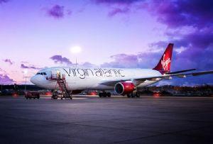 image: UK Virgin Atlantic cargo air freight London Heathrow bellies aircraft IAG pilot strike British Airways
