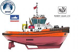 image: Demark ice class tugs Svitzer Med Marine towage