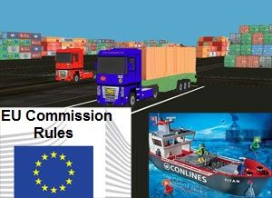 image: Belgium freight forwarders import export short sea EU Commission maritime accidents safe truck parks counterfeit