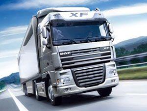 image: UK truck bus freight haulier cargo haulage