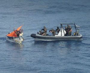 image: Somalia EU Navfor pirates freight shipping Ro/Ro Horn of Africa captured