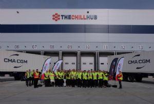 image: UK CEVA London Gateway Multi Temperature Cool Chain Facility pharma Chill Hub