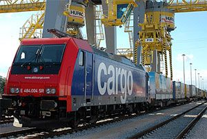 image: Switzerland intermodal rail freight cargo