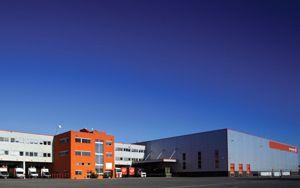 image: Gebr�der Weiss logistics freight terminal Romania Austria